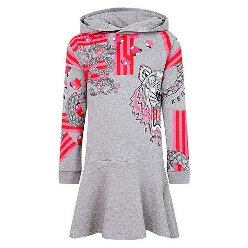 Платье KENZO размер 92, серый