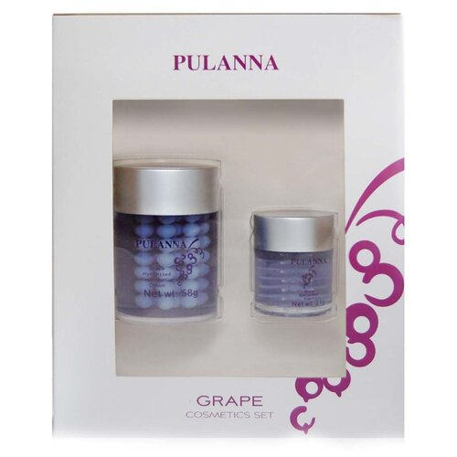 Набор PULANNA Grape Cosmetics Set набор pulanna grape cosmetics set