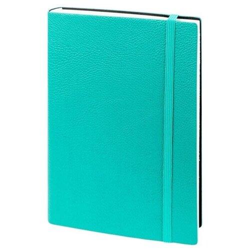 Купить Ежедневник InFolio Prime недатированный, искусственная кожа, А5, 160 листов, бирюзовый, Ежедневники, записные книжки