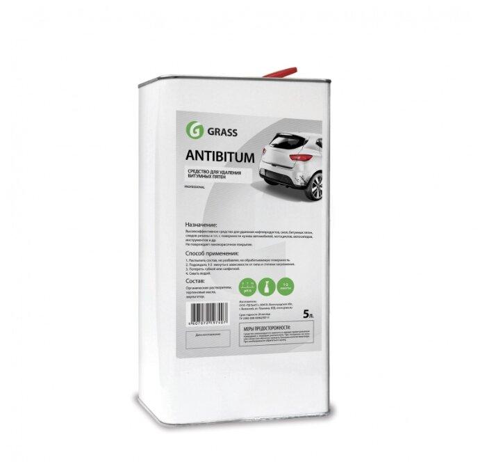Очиститель кузова GraSS для удаления битумных пятен Antibitum, 5 л