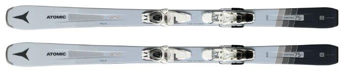 Горные лыжи Atomic Vantage Wmn 75 C с креплениями L 10 gw Grey/Blue 19-20