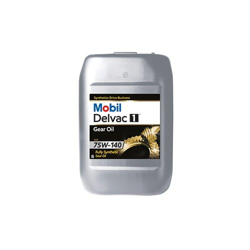 Трансмиссионное масло MOBIL Delvac 1 Gear Oil 75W-140 20 л
