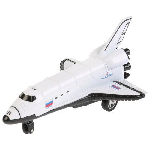 Ракета ТЕХНОПАРК Шаттл (88622-2L-R) 12 см белыйМашинки и техника<br>