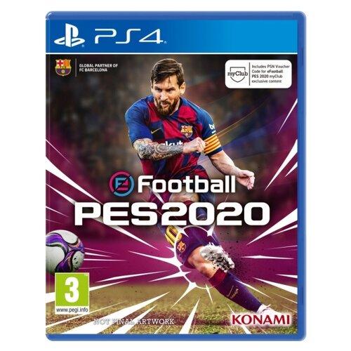 Игра для PlayStation 4 eFootball PES 2020