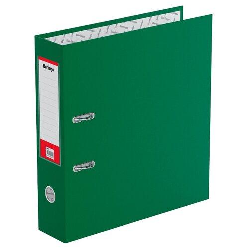 Berlingo Папка-регистратор с карманом на корешке Standard А4, бумвинил, 70 мм зеленый berlingo папка регистратор с карманом на корешке standard а4 бумвинил 70 мм красный