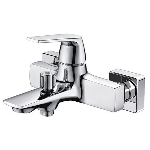 Фото - Смеситель для ванны с подключением душа WasserKRAFT Neime 1901 хром смеситель для ванны с подключением душа wasserkraft berkel 4844 thermo двухрычажный с термостатом встраиваемый