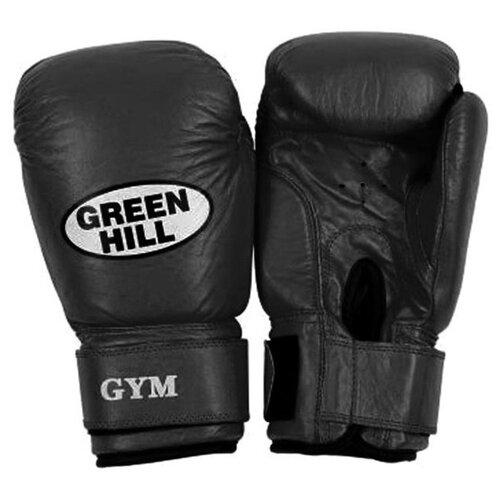 Боксерские перчатки Green hill Gym (BGG-2018) черный 10 oz