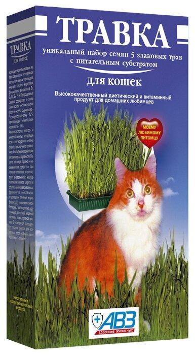 Лакомство для кошек Агроветзащита Травка (лоток с питательным субстратом)