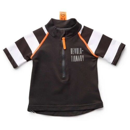 Пляжная футболка Happy Baby размер 92-98, черный/белый футболка happy baby размер 98 light blue