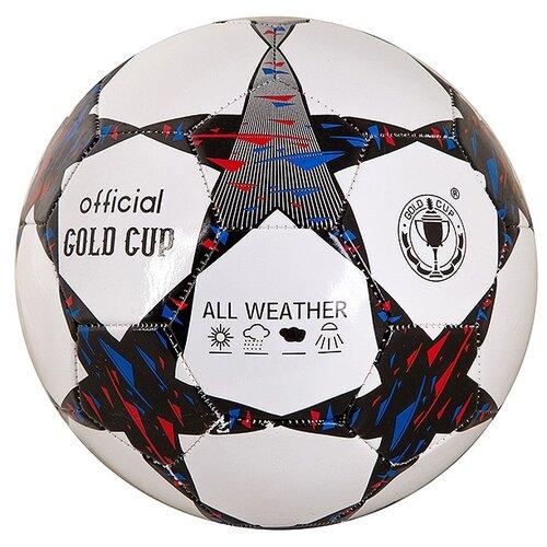 Фото - Футбольный мяч Shenzhen Jingyitian Trade Official Gold Cup T88430 белый/черный 5 gratwest футбольный мяч official gold cup размер 5 бело красный