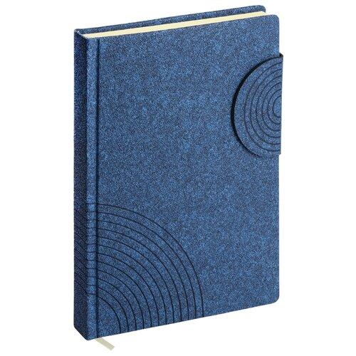 Купить Ежедневник ErichKrause Ruggine недатированный, искусственная кожа, А5, 168 листов, синий, Ежедневники, записные книжки