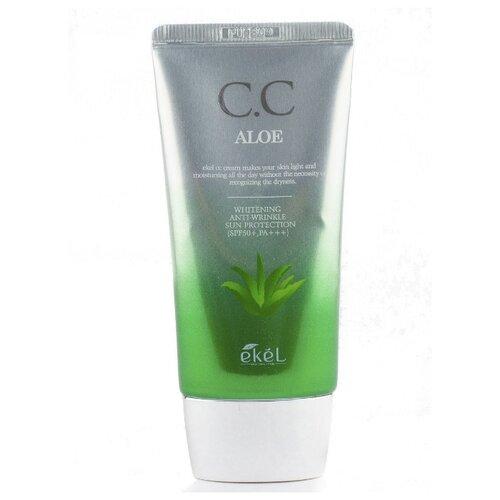 Ekel CC крем Aloe, SPF 50, 50 мл, оттенок: универсальный