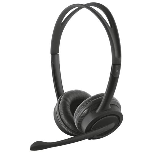 Купить Компьютерная гарнитура Trust Mauro USB Headset черный