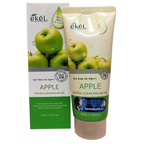Купить Ekel Пилинг-скатка Natural Clean Peeling Gel Apple с экстрактом яблока 100 мл