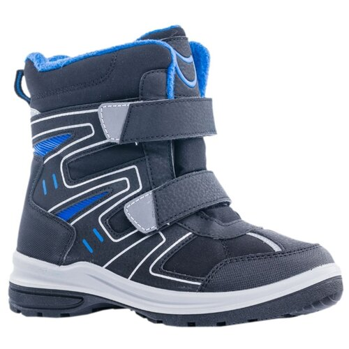Ботинки КОТОФЕЙ размер 34, черный/серый ботинки котофей размер 34 черный