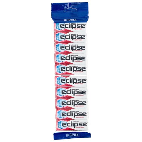 Жевательная резинка Eclipse Ледяная вишня, без сахара 10 шт.