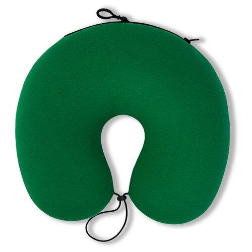 Подушка для шеи Штучки, к которым тянутся ручки Трансформер, зеленый