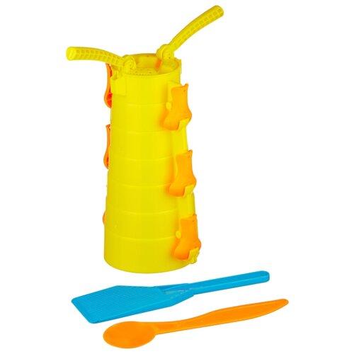 Купить Набор 1 TOY Снежные забавы Т13992 желтый, Наборы в песочницу
