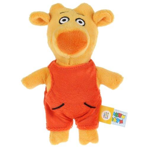 Купить Мягкая игрушка Мульти-Пульти Оранжевая корова Теленок Бо 17 см, без чипа, Мягкие игрушки