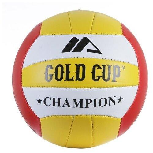 Фото - Волейбольный мяч Gold Cup Champion желтый/белый/красный cup