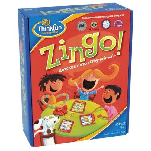 Настольная игра ThinkFun Детское лото Обучай-ка игра детское лото магазин djeco игра детское лото магазин