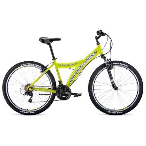 цена на Горный (MTB) велосипед FORWARD Dakota 26 2.0 (2020) желтый/белый 16.5 (требует финальной сборки)