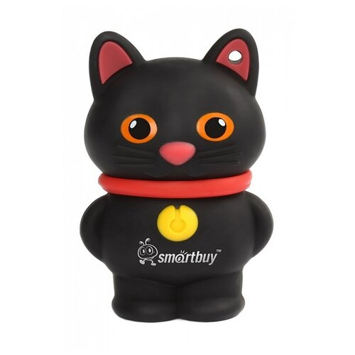 Фото - Флешка SmartBuy Wild Series Catty 16GB черный игрушка машинка трансформер дикие скричеры найтбайт л1 тм screechers wild 34821