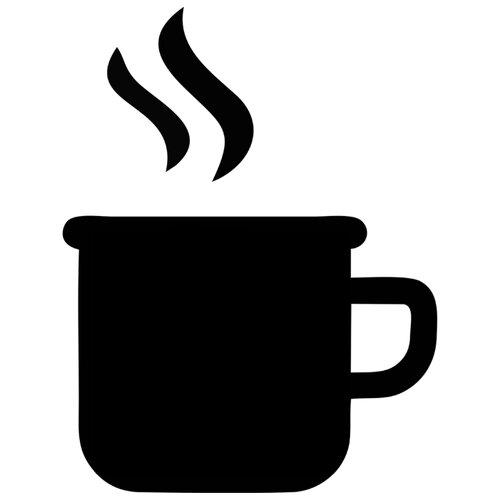 Наклейка Melcom Чашка Кофе 04, меловая наклейка melcom уютный чайник 04 меловая