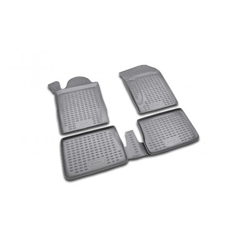 Комплект ковриков ELEMENT NLC.41.10.210 для Renault Symbol 4 шт. черный