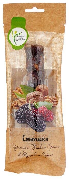 Чурчхела Семушка с грецким орехом в тутовом сиропе 85 г