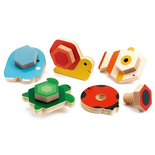 Фото - Развивающая игрушка DJECO Прикрути основание разноцветный развивающая игрушка mapacha суперкуб разноцветный