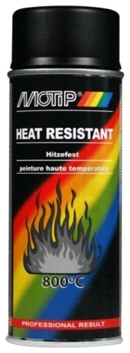 MOTIP аэрозольная автоэмаль Heat Resistant 800
