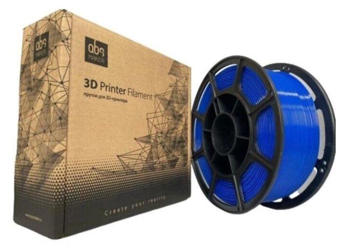 Купить PETG пруток АБС Мейкер 1.75 мм синий 1 кг по низкой цене с доставкой из Яндекс.Маркета
