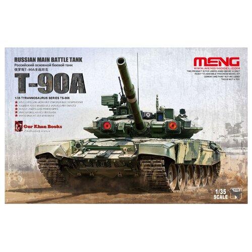 Сборная модель Meng Model Russian Main Battle Tank T-90A (TS-006) 1:35 meng ping ni chinas und hongkongs sozialpolitik