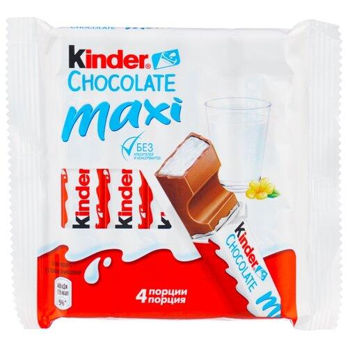 киндер конфета kinder chocolate maxi kinder Шоколад Kinder Chocolate maxi молочный, 84 г