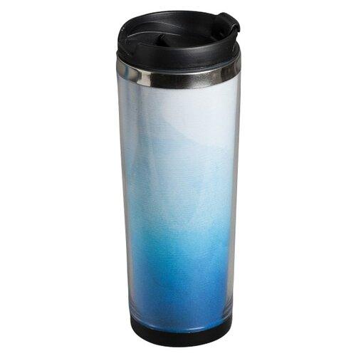 Термокружка Komandor Градиент, 0.35 л голубой