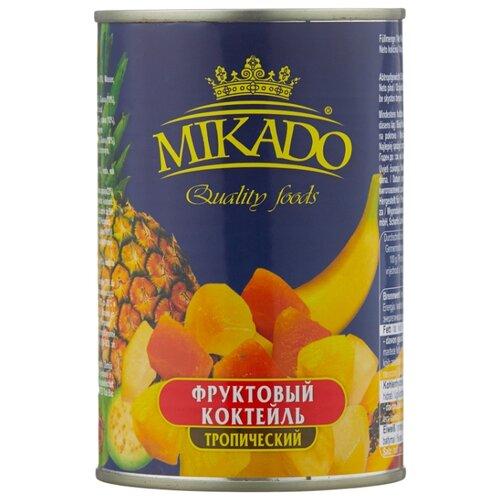 Фруктовый коктейль Mikado тропический 425 мл