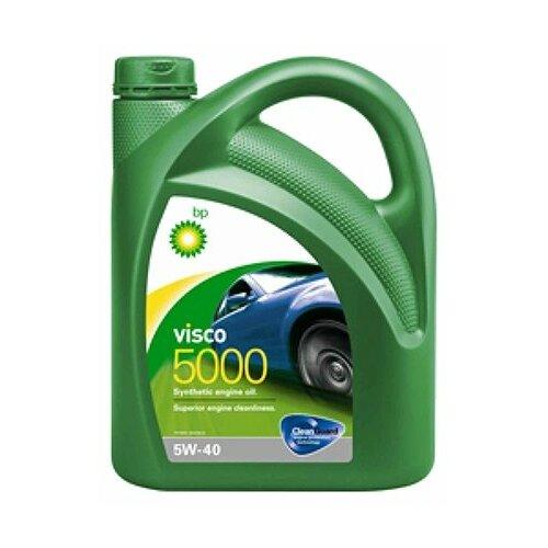 Синтетическое моторное масло BP Visco 5000 5W-40, 4 л