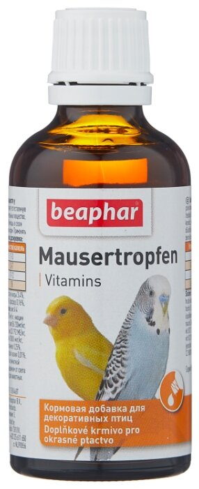 Добавка в корм Beaphar Mausertropfen