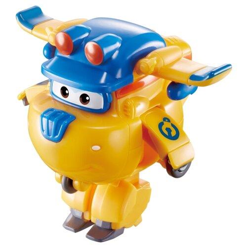 Трансформер Auldey SUPER WINGS Донни Мини (команда Строителей) желтый/синий