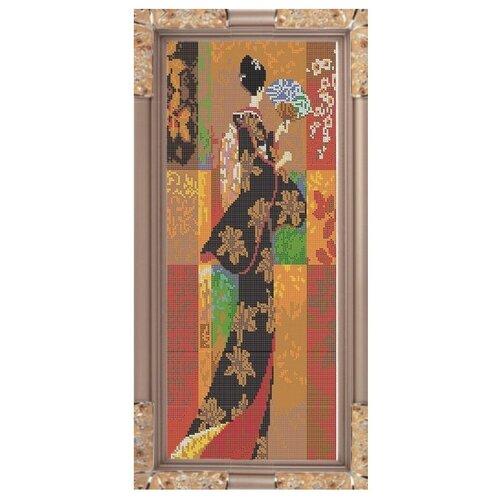Светлица Набор для вышивания бисером Восток 19,6 х 47,9 см, бисер Чехия (023П)