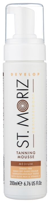 Мусс для автозагара St.Moriz Professional Tanning Mousse Medium