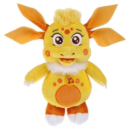 Купить Мягкая игрушка Мульти-Пульти Лунтик и его друзья Луня желтая озвученная 18 см, Мягкие игрушки