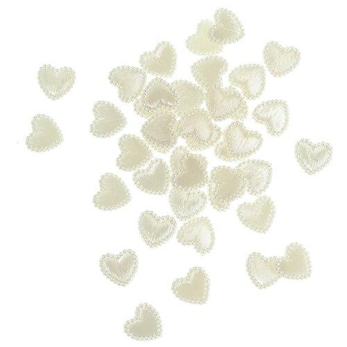 Купить Набор декоративных элементов Сердце 1, 3 см 40 шт пластик 2487702, Efco, Украшения и декоративные элементы