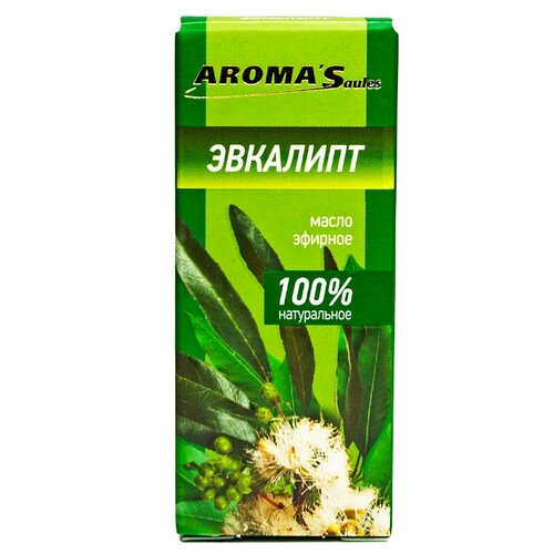 AROMA'Saules эфирное масло Эвкалипт 10 мл