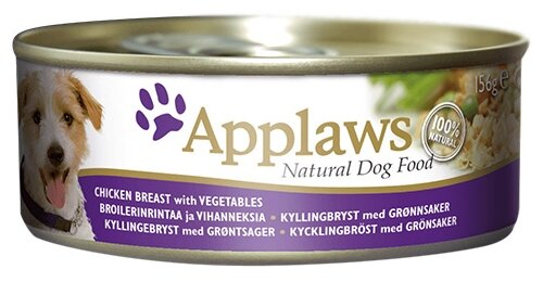 Корм для собак Applaws курица с овощами 156г
