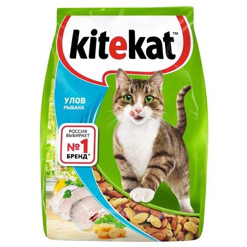 Сухой корм для кошек Kitekat Улов Рыбака 1.9 кг