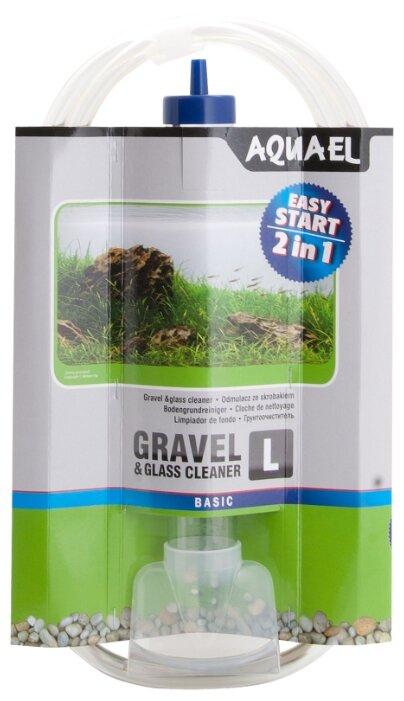 Сифон механический AQUAEL GRAVEL & GLASS CLEANER L
