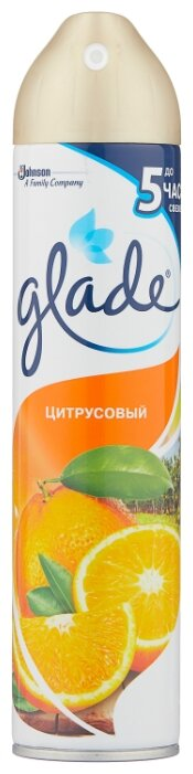 Glade Аэрозоль цитрусовый, 300 мл