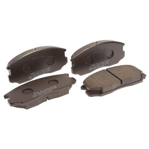 Дисковые тормозные колодки передние Frixa FPE041 для Mitsubishi Lancer, Mitsubishi Colt (4 шт.) фильтр топливный mann filter для mitsubishi colt vi 04